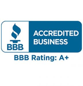 Cousin's Cleaners - A+ rating on BBB